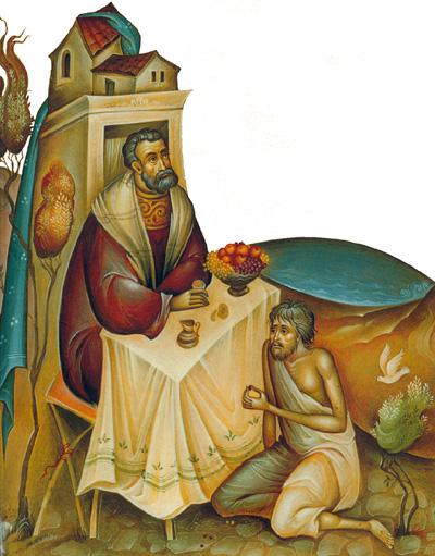 Plousios-kai-Lazaros mesa