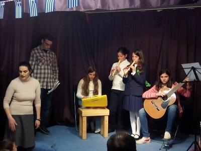 Γιορτή 25ης Μαρτίου Νεανικών Συντροφιών Ι. Ν. Αγ. Στυλιανού Γκύζη
