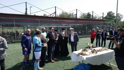 Πραγματοποιήθηκε το Φιλανθρωπικό Φιλικό Ποδοσφαιρικό Τουρνουά, για την ενίσχυση της Κοινωνικής Υπηρεσίας της Ι. Μ. Γλυφάδας Ε. Β. Β. & Β