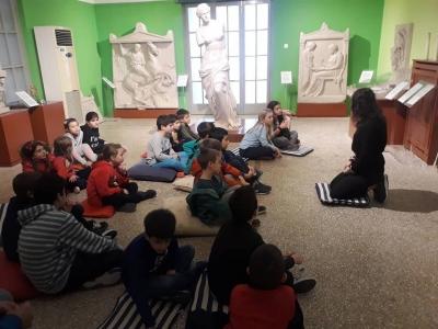 """Το """"Παιδικό Θεολογικό Εργαστήρι"""" του Ι.Ν. Αγ. Σοφίας Ν. Ψυχικού στο Μουσείο αφής του Φάρου τυφλών στην Καλλιθέα"""