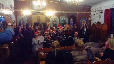 Χριστουγεννιάτικη γιορτή και δραστηριότητες κατηχητικού Ι.Ν.Ευαγγελισμού της Θεοτόκου Ν.Χαλκηδόνας