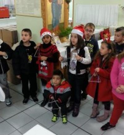 """Χριστουγεννιάτικες Δραστηριότητες """"Στέκι Εφήβων"""" Ι. Ν. Αγ. Στυλιανού Γκύζη"""