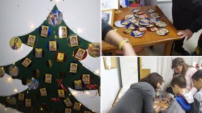 Ένα διαφορετικό Στόλισμα Χριστουγεννιάτικου Δέντρου, στη Κατηχητική Σύναξη του Π.Α.Α.Π. Βούλας