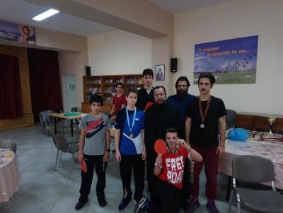 Ολοκληρώθηκε το 1ο Διενοριακό Πρωτάθλημα Επιτραπέζιας Αντισφαίρισης (πινγκ-πονγκ) , του Αθλητικού Οργανισμού «Ο ΑΓΙΟΣ ΝΕΣΤΩΡ» της Ι. Μ. Γλυφάδας