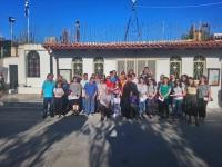 Επίσκεψη του 2ου Έτους του Φροντιστηρίου Yποψηφίων Κατηχητών της Αποστολικής Διακονίας της Εκκλησίας της Ελλάδος, στον Ι. Ν. Προφήτου Ηλιού Κόρμπι Βάρης